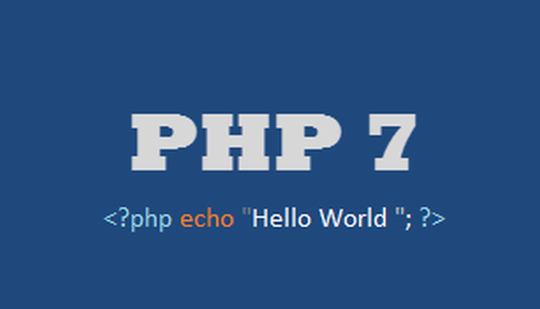 PHP 7- Future that will go with every PHP developer